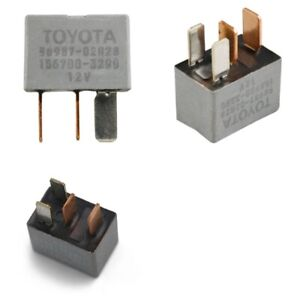 BRAND NEW FACTORY DENSO TOYOTA/LEXUS/SCION RELAY #90987-02028 REPAIRS A/C ISSUES