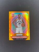 2015-16 Panini Prizm NORMAN POWELL Orange /65 Prizm SP Rookie RC #337