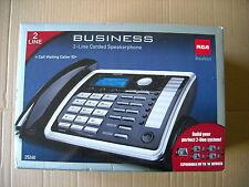 Brand NEW RCA 25260 1-Handset 2-Line Landline Telephone factory sealed