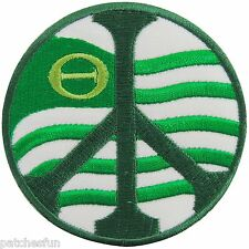 Green Peace Save The Earth Eco Ecology Forest Hippie Boho Iron on Patches #1359