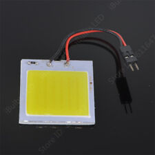"""12v 48 COB LED Module Crystal Blue with wires & 2 pin 0.1"""" plug - UK Stock"""