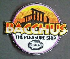 Space Above And Beyond Bacchus Embrodiered Patch -new