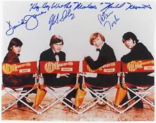THE MONKEES Signed Autograph 11x14 Photo by All 4 Davy Jones, M. Nesmith Lyrics