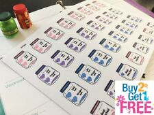 PP363-- Mason Jar Weight Lose Reminder Planner Stickers for Erin Condren (32pcs)