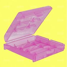 AA Battery Box (Purple) for Sanyo eneloop XX 3UWXB 3UWXA