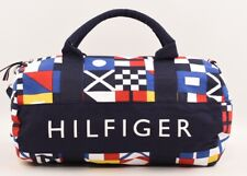 TOMMY HILFIGER Small Mini Duffle Bag, Removable Strap, Multicoloured, 35x22x16cm