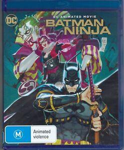 Batman Ninja DC Animated Blu-Ray Movie FREE POSTAGE!