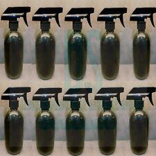 10x 500ml Empty Plastic Trigger Bottle Car Cleaning Hand Spray Garden Black Pet