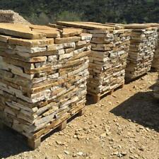 Bruchsteinplatte Naturstein Polygonalplatten Gartenplatten Gelb 20m² 2-3cm