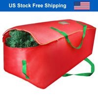 Christmas Tree Storage Bag Zipper Heavy Duty Holiday Up to 9 Ft. Trees w Handles