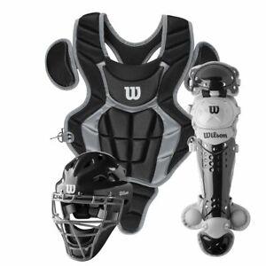 Wilson C200 Youth Ages 7-12 Baseball/Softball Catcher's Set WB5711601YH