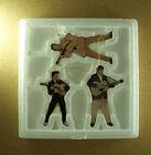ROCKIN' 'N' ROLLIN' ELVIS Presley Porcelain Ornament Set 3 MIB COA #3 Teddy Bea