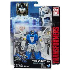2016 Hasbro Transformers Generations Titans Return Deluxe Class Highbrow & Xort
