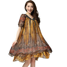 Ball Gown Knee-Length Plus Size Dresses for Women