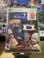 Ratatouille (Microsoft Xbox 360 2007) - New Factory Sealed!