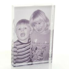 Large Photo Crystal Block - Personalised Photo Glass Gift