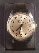 Glashütte SPEZICHRON 22 rubis uralt Armbanduhr made in GDR