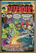 The Defenders #30-31 - Theatre of Fear/Nighthawk No More - 1976 (7.5-8.0) Wh
