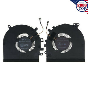Original CPU + GPU Cooling Fan for Razer RZ09-027 RZ09-0270 Spirit Blade 15