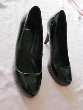"Carvela Black Patent 3.5"" High Heel Court Shoes in Size 5 UK / EUR 38"
