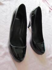 """Carvela Black Patent 3.5"""" High Heel Court Shoes in Size 5 UK / EUR 38"""