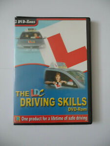 The LDC DRIVING SKILLS DVD-Rom 3 DVD Disc set 2004 Learn Lessons & Manoeuvres