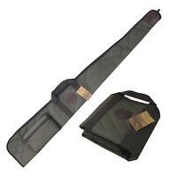 Tourbon Shotgun Bag w/Side Shells Pocket Hunting Storage Soft Gun Carrying Case