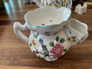 Vintage ceramic Foley ,James Kent  Collectible shaving mug Very pretty No Chips
