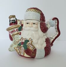 Santa Claus St. Nicholas Teapot Christmas AVON Gift Collection 2001