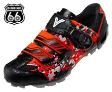 Vittoria Myto mountain bike shoes made in Italy (color : Camo Orange) Size 40