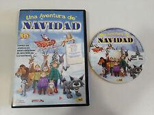 UNA AVENTURA DE NAVIDAD DVD + EXTRAS CASTELLANO ENGLISH CATALAN MULTIZONA