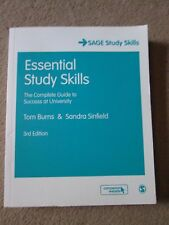 Essential Sage Study Skills: The Complete Guide to Success at University 2nd Ed