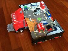 Micro Machines Grand Prix Racing truck lorry camion fold out city