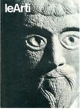 LE ARTI N. 10 11 12 NOVEMBRE DICEMBRE 1975 MENSILE ARTE COROT MONET WARHOL