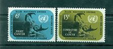 Nations Unies New York 1970 - Michel n. 224/25 - Combattre le Cancer