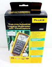 FLUKE 289 TRUE RMS INDUSTRIAL DATA LOGGING DIGITAL W TRENDCAPTURE MULTIMETER NEW