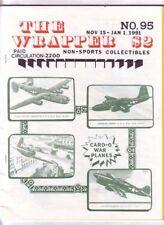 THE WRAPPER #95 - 1990 Non-sports cards fanzine - CARD-O WAR PLANES