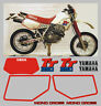 Adesivi Yamaha TT 350  1998  blu/rosso - adesivi/adhesives/stickers/decal