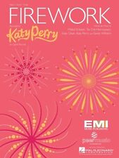 Firework Sheet Music Piano Vocal Katy Perry NEW 000354147