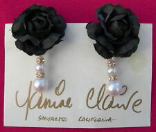 Fashion Earrings by Janine Claire~Jewelry Artist, Sausalito, California-Handmade