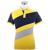 Tommy Hilfiger Men Short Sleeve Custom Fit Pique Polo Shirt - $0 Free Ship