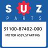31100-87402-000 Suzuki Motor assy,starting 3110087402000, New Genuine OEM Part