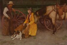 """The Beloved"" Craig Tennant Western Limited Edition Fine Art Giclee Canvas"