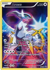 Arceus Ultra Rare Pokemon Xy116 Black Star Promo Foil Holo Holographic - Lp