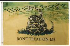 New listing Gadsden Live Rattlesnake We The People 150D Nylon Poly 3x5 3'x5' Flag Banner