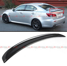 FOR 2006-13 LEXUS IS 250/350/ ISF F STYLE REAL CARBON FIBER REAR TRUNK SPOILER