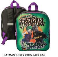 LEGO BATMAN MOVIE JOKER VS BATMAN JUNIOR KIDS BACKPACK RUCKSACK KIDS BAG