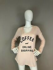 NEW JUNK FOOD COFFEE AND ONLINE SHOPPING T Shirt Size M