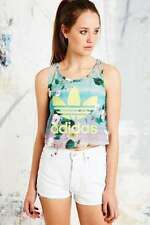 adidas Polyester Sleeveless Graphic T-Shirts for Women