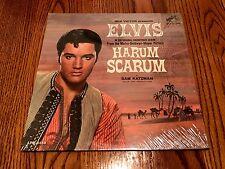 ELVIS PRESLEY HARUM SCARUM ORIGINAL FIRST PRESS  MONAURAL  LP STILL IN SHRINK